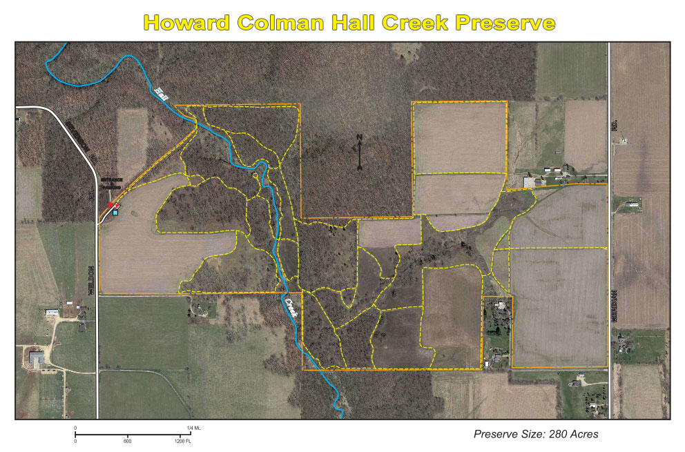 Howard Colman Hall Creek Preserve